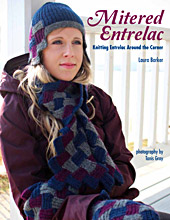 Mitered-Entrelac-Front-Cover by Laura Barker