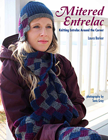 Mitered Entrelac by Laura Barker