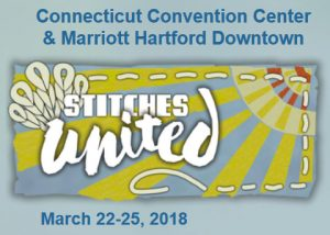 Stitches United; Hartford, CT; March 22-25, 2018