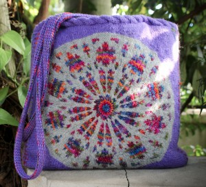 Rose Window Tote KAL (knit-along)